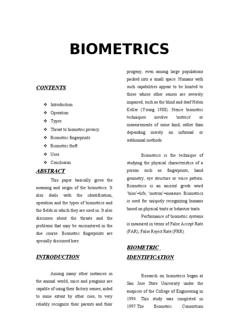 Biometrics b | Biometrics (12 views)
