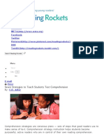 seven strategies to teach students text comprehension   reading rockets