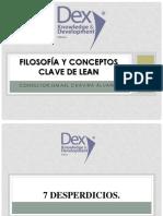 2.- Filosofia y Conceptos Claves de Lean