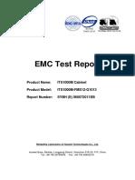 Huawei Mini-shelter FCC EMC Test Report of ITS1000M-FMS12