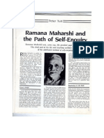 ramana maharshi and the path of self enquiry part one