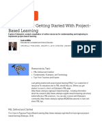 resources for getting started with project-based learning   edutopia