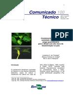 Cenargen - Crestamento Bacteriano Aureolado Do Feijoeiro - Praga Quarentenária Para o Brasil Com Alto Risco de Disseminação No País