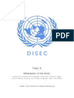 disec - militarization of the arctic - study guide