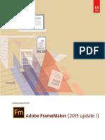 Frame Maker 2015 Getting Started Guide