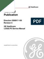 Logiq P3 Service Manual GE