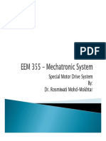 EEM 355 – Mtronic System - Special Machine Drives 1