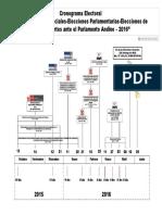 CRONOGRAMA DE ELECCIONES GENERALES 2016