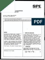 SPE-7690 McDonald a.E. Approximate Solution for Flow on Non-newtonian Power Law Fluids Through Porous Media