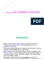 Marine Diesel Engine Introduction And Theory