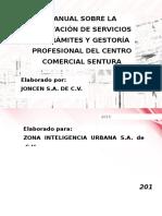 MANUAL SOBRE LA PRESTACIÓN DE SERVICIOS DE TRÁMITES Y GESTORÍA PROFESIONAL (Zona Urbana).docx