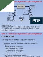 Cálculo de Cargas Térmicas Para Refrigeración