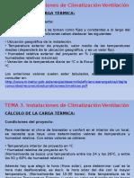 Cálculo de Cargas Térmicas Climatización