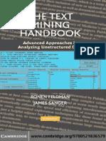 The Text Mining Handbook