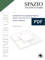 SPAZIO MFTS DistPlatf v2.5 SysAdminGuide
