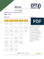Malla Parvulos y PrimerCiclo CFT Profasoc 2014