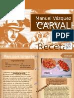 Recetario sobre Carvalho
