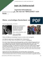 Weine, Unschuldiges Deutschland, Weine! « Lupo Cattivo – Gegen Die Weltherrschaft