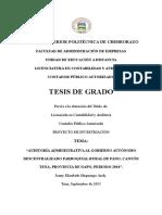 Modificada Tesis 50% Auditoria Administrativa