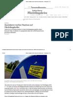 Sachsen_ Randalierer Werfen Flaschen Auf Flüchtlingshelfer - Flüchtlingskrise - FAZ