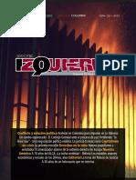 Revista Izquierda N° 59, noviembre de 2015