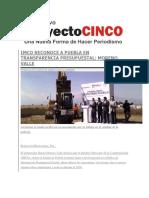 02-12-2015 Proyecto Cinco - Imco Reconoce a Puebla en Transparencia Presupuestal, Moreno Valle