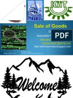Sale of Goods Law (Contract II)