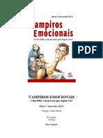 Vampiros Emocionais - Albert J. Bernstein Ph.D.