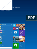 Guia Basica de Windows 10 Preview Por Neo