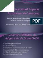 UNIDAD I. Sistemas de Adquisición de Datos 1