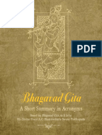 Gita Summary in Acronyms