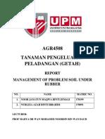 Report laWATAN Getah PDF