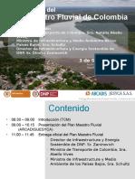 Presentación Plan Maestro Fluvial - Colombia 2015-2035