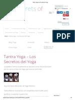 Tantra Yoga _ Los Secretos Del Yoga