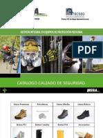 Catalogo Calzado de Seguridad Mega Representaciones
