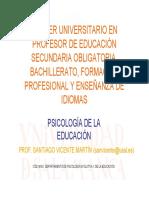 Santiago Vicente Programa de La Asignatura