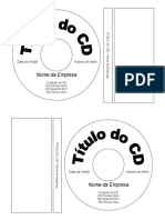 Gabarito Etiqueta Para CD - Pimaco