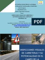Inspecciones Visuales de Carreteras y Su Potencialidad en El Campo de La Seguridad Vial