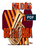 42 Studies for Tuba