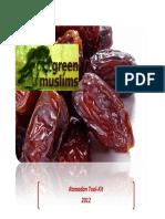 Ramadan Toolkit 2012