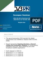 DVB-S2 at Incospec Seminar