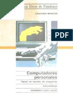 Computadores Personales Hacia Un Mundo de Maquinas Informaticas