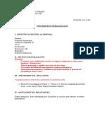 informe evalua 1