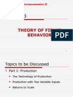 Micro 2- Chapter 3- Firm_s Behavior