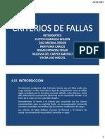 Cap 3 - Criterios de Falla