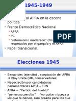 Frente Democrático Nacional 1945-1948x