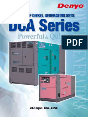 Denyo Generator | Electric Generator | Switch