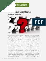 FORUM Critiquing Questions