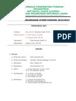 Kepengurusan Baru 2013 Edit