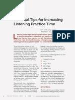 FORUM Article Practical Tips Increasing Listening